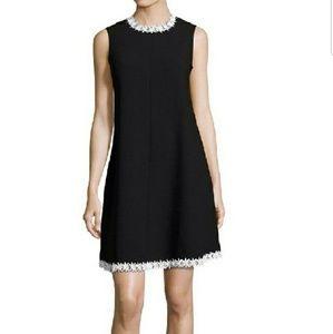 Nanette Lapore Embroidered Sleeveless Shift  Dress